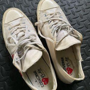 Converse PLAY Comme Des Garçons Men's Shoes Sz 11